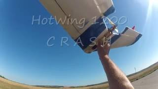 RC Hotwing 1200 CRASH