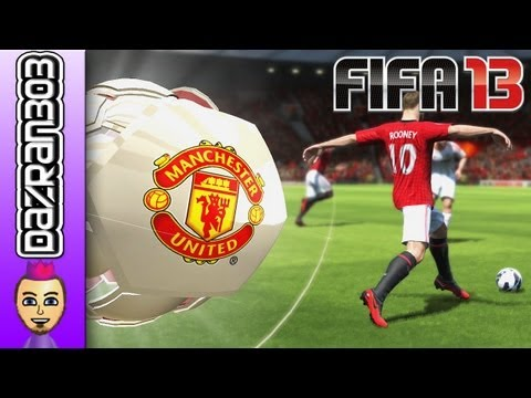 FIFA 13 Wii U MANCHESTER UNITED Vs BAYERN MUNICH WiiU Gameplay Commentary by Dazran303