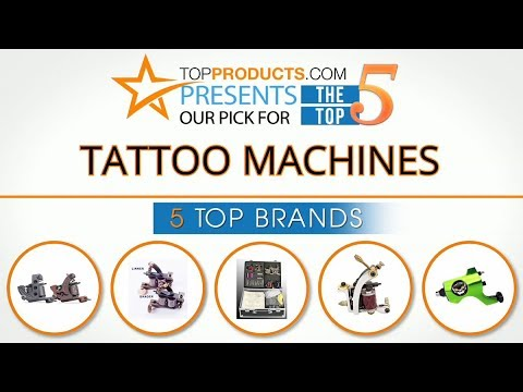 Best Tattoo Machine Reviews 2017 – How to Choose the Best Tattoo Machine