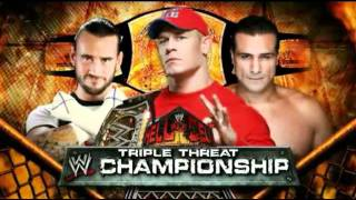 WWE Hell in A Cell 2011 Match Card+My Predictions