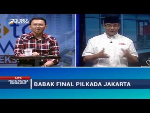 Video Mata Najwa Eksklusif: Babak Final Pilkada Jakarta (1)