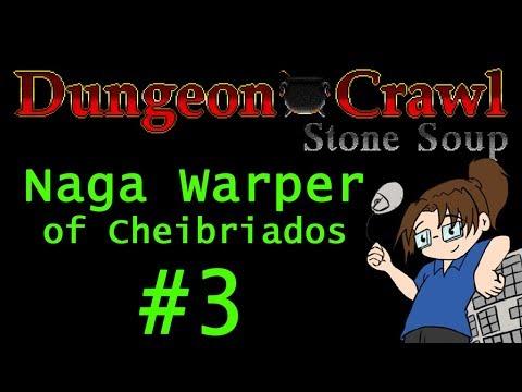 Dungeon Crawl Stone Soup: Naga Warper of Cheibriados - Part 3