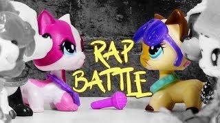 FAKE LPS VS REAL LPS - RAP BATTLE (Original Littlest Pet Shop Song)