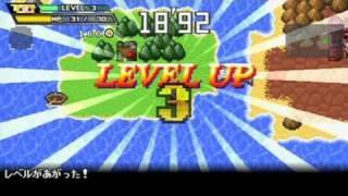 Yuusha 30 Japanese Level Up Demo Gameplay PSP