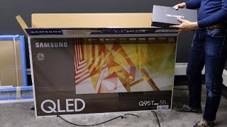 02. Samsung Q95T 4K QLED TV Unboxing + Picture Settings