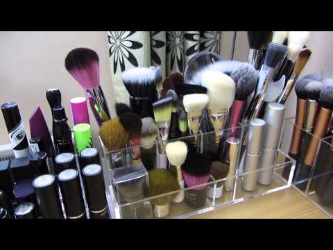 Makeup Collection & Storage (Updated; March 2014)