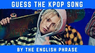 Download Lagu GUESS THE KPOP SONG BY THE ENGLISH PHRASE Gratis STAFABAND
