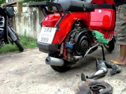 Vespa px 200 Accessories Vespa Exhaust px 200 cc