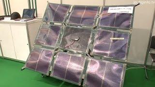 折りたたみ式PV(nanoGrid)