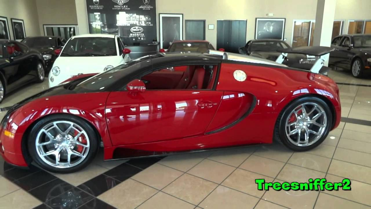 Red And Black Bugatti Bugatti Veyron Redlack 360