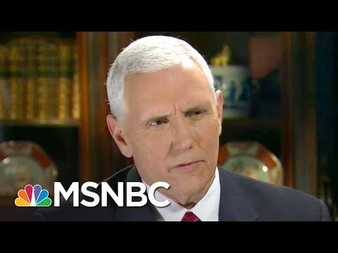 Cover Lagu Mike Pence Up To His Neck In Russia Scandal, Losing Press Secretary | Rachel Maddow | MSNBC