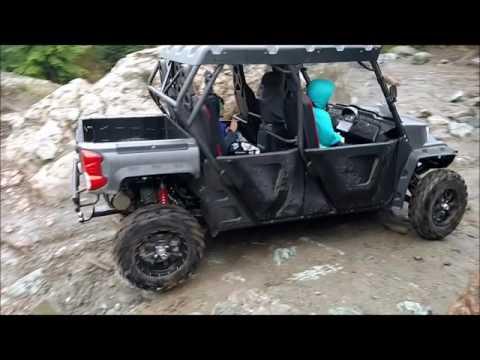 ODES UTV in the trails again. Rock hill climb