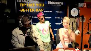 Iggy Azalea SHUT DOWN! BY RADIO CALLER On Sway In The Morning