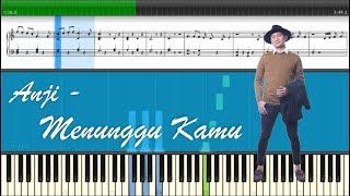 Anji - Menunggu Kamu (Piano Tutorial)