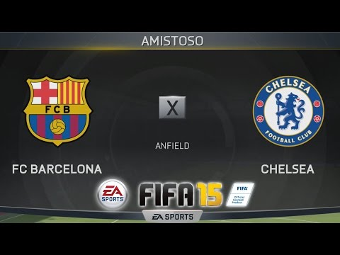 FIFA 15 DEMO - Barcelona x Chelsea [PS4 - PT/BR]