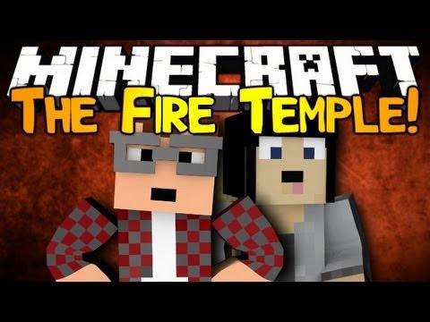 Minecraft: The Fire Temple! Ep1 w/ MunchingBrotato!