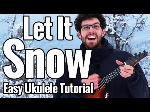 Let It Snow - Ukulele Tutorial With Play Along
