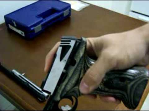 Smith & Wesson Model 22A-1 Handgun Disassembly Field Strip Fieldstrip Takedown - Gunknowledge.com