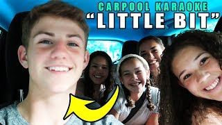 "Carpool Karaoke: ""Little Bit"" with MattyBRaps!"
