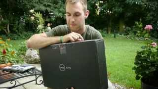 Dell XPS 14 Unboxing im Freien [DE]
