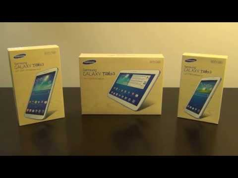 Samsung Galaxy Tab 3 Tablets: 7.0. 8.0 and 10.1 Spec Comparison
