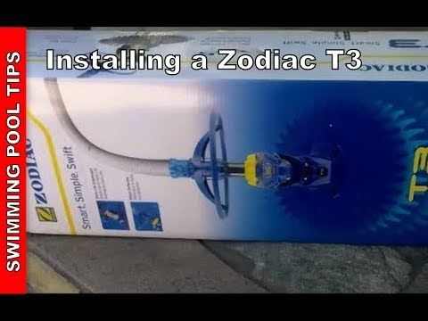 Installing A Zodiac T3 Automatic Pool Cleaner Youtube