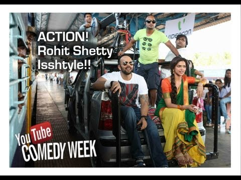 Chennai Express I Action - Rohit Shetty Issshtyle I Behnd the scenes