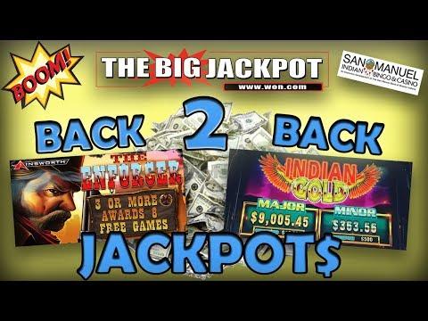 "WOW! ♠️ BACK 2 BACK ♠️ JACKPOTS on ""THE ENFORCER"" & ""INDIAN GOLD"" 💣🔥"