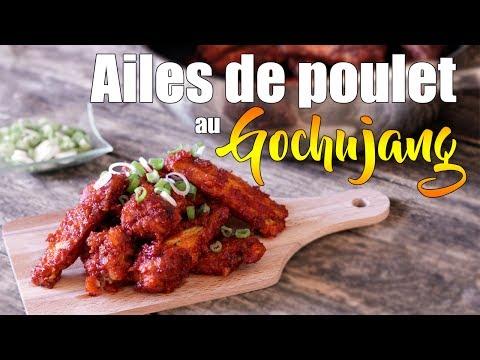 Ailes de poulet au Gochujang - Inspiration coréenne - Le Riz Jaune