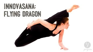 Innovasana (Innovative Yoga Asana): Flying Dragon