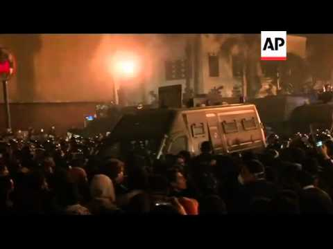 Egypt - protests in Tahrir Square - 2011