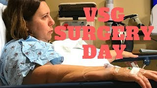VSG Surgery Day - My Wife Gets Sleeved