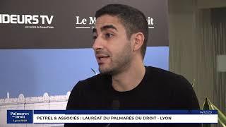 Décideurs du Droit - Petrel & Associés - Lauréat du Palmarès du Droit - Lyon 2020
