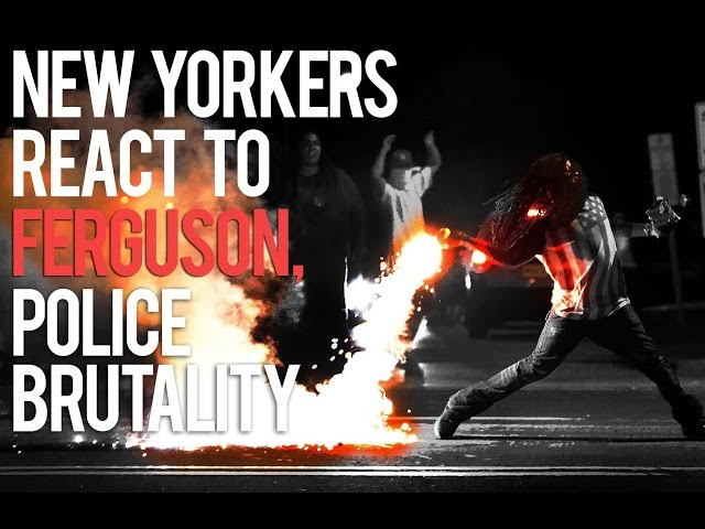 New Yorkers React To The Ferguson Verdict & Police Brutality In America