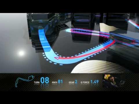 Formula 1 2010 - Track Simulation Monaco - Sebastien Buemi