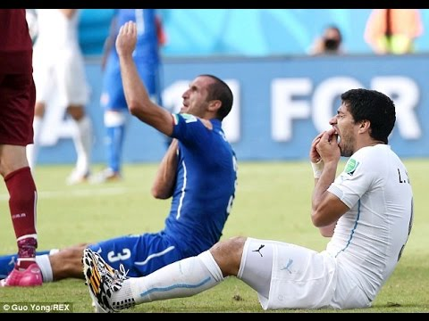 Luis Suarez four-month playing ban for biting Giorgio Chiellini upheld...