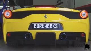 Ferrari 458 Speciale  x Fi Exhaust - Challenge your limits sound !