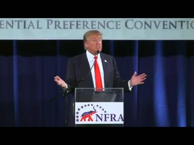 Trump Defends the Tea Party