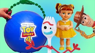 LOL Big Surprise Custom with Toy Story 4 Toys and Dolls ! Pretend Play for Kids | SWTAD