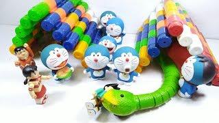 Đồ chơi 6 Anh Em Doremon và 2 con rắn dễ thương