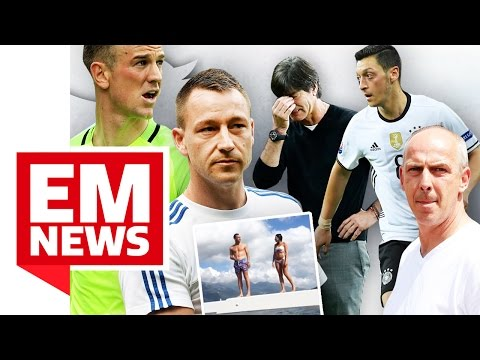 John Terry feiert England-Sieg auf Luxus-Yacht und Basler schießt gegen Özil - EM-News
