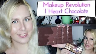 Бюджетный аналог CHOCOLATE BAR Too Faced|Makeup Revolution I Heart Chocolate Palette