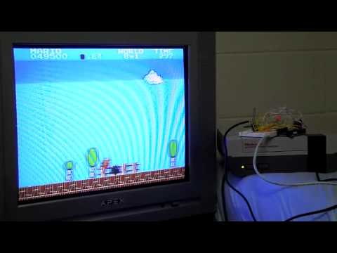 NESBot - NES playing robot beating Super Mario Bros.