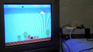 NESBot - NES playing robot beating Super Mario Bros.
