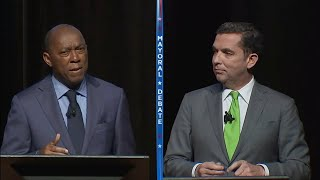 Houston mayoral debate: Mayor Turner and Tony Buzbee go head to head