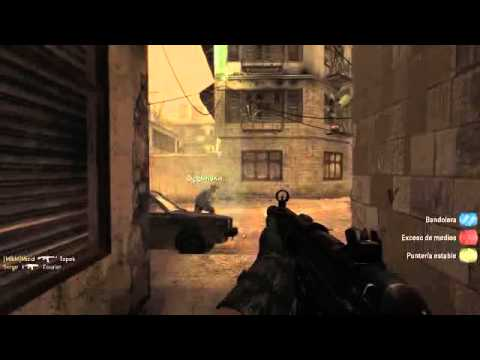 District Call of Duty 4 Modern Warfare multiplayer gameplay online español pc parte 1