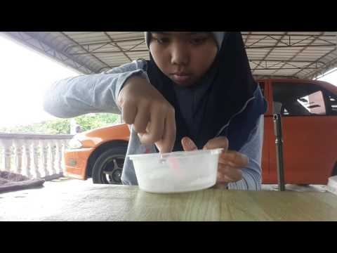 How to make fluffy slime (Malaysia)... thumbnail