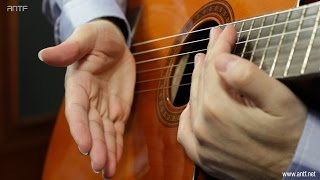 Guitar 204: Basic Chords Hitting - اول طريقة لعزف الكوردات - بالعربية (Dr. ANTF)
