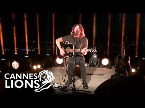 Dave Grohl - Best of You - Acoustic at Cannes Lions 2016 HD