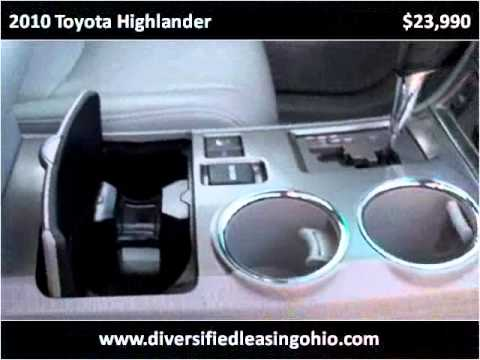 2010 Toyota Highlander Used Cars Chardon OH
